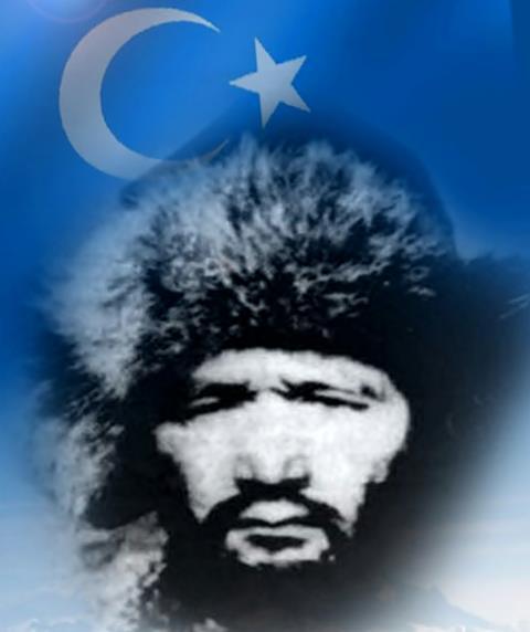 Photo of Osman Batur (Kazakça: Оспан батыр, d. 1899 – ö. 29 Nisan 1951)