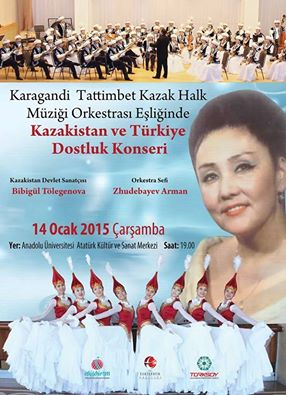 Photo of Kazakistan ve Türkiye Dostluğu Konserleri Başlıyor.