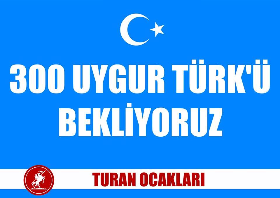 Photo of 300 Uygur Türkü İçin Turan Ocakları Eylem Yaptı