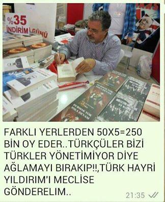 Photo of Mecliste Görmek İstediğimiz isim HAYRİ YILDIRIM