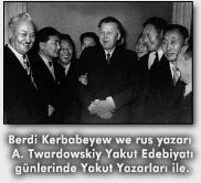 Yakut_Yazarlari_ile Berdi Kerbabayev