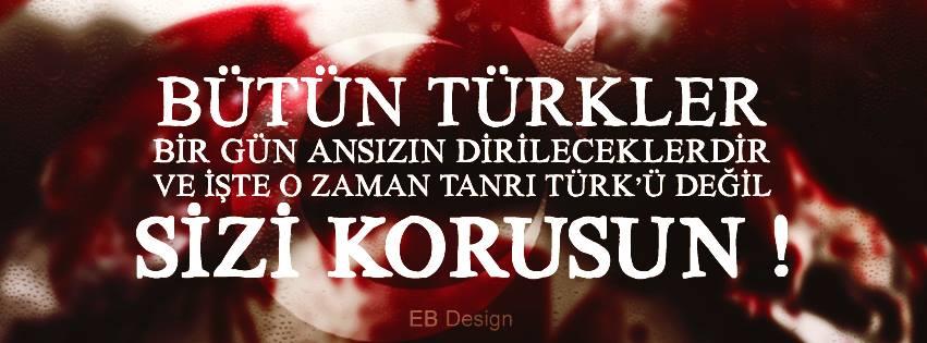 bütün türkler ansızın