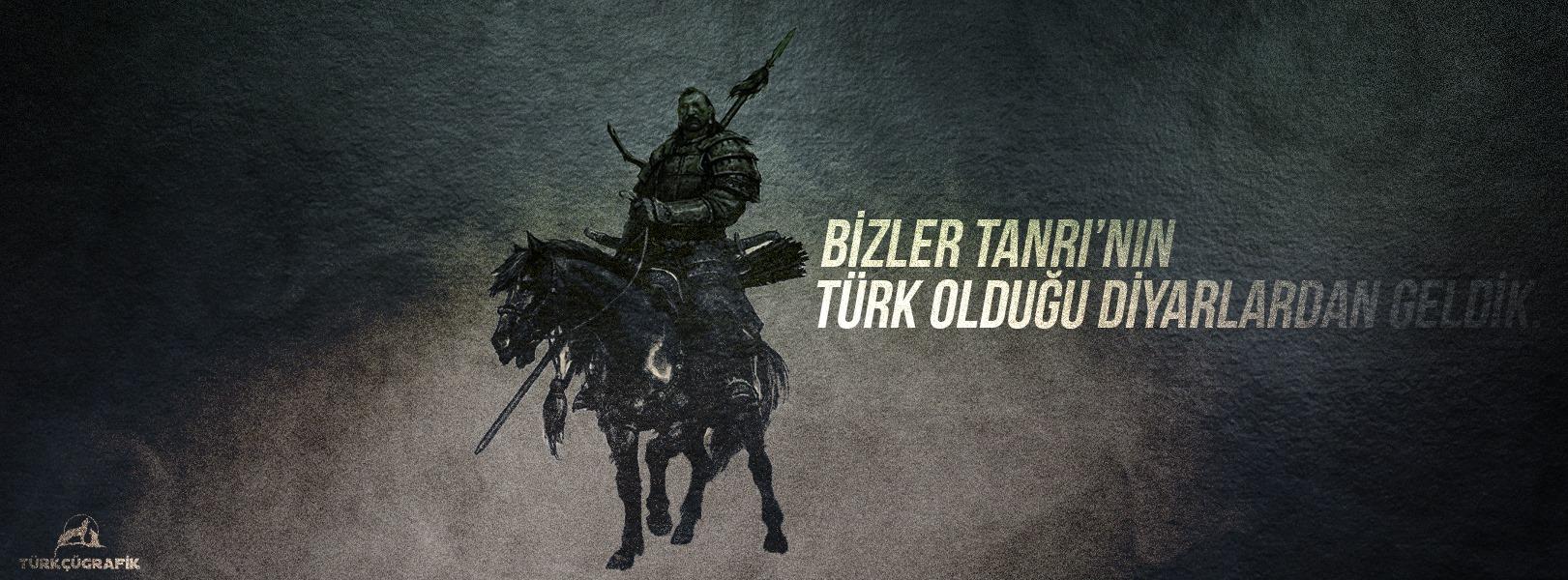 bizler tanrının türk olduğu diyarlardan geldik -kapak