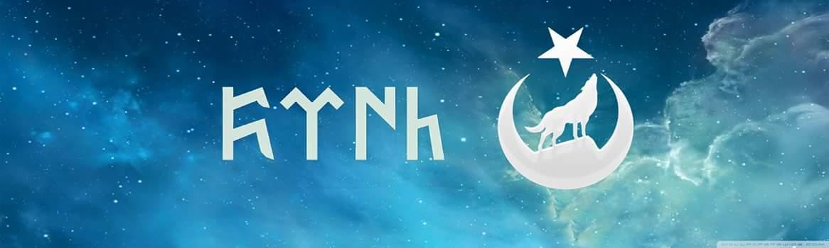 göktürkçe türk ay yıldız kurt