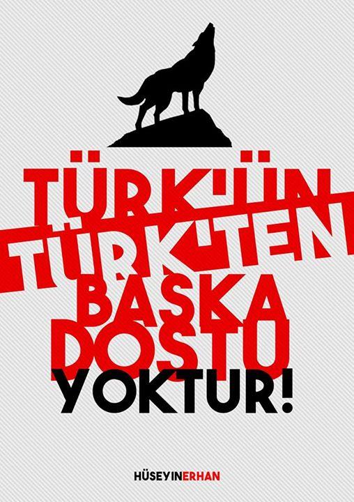 türkün türkten başka dostu yoktur