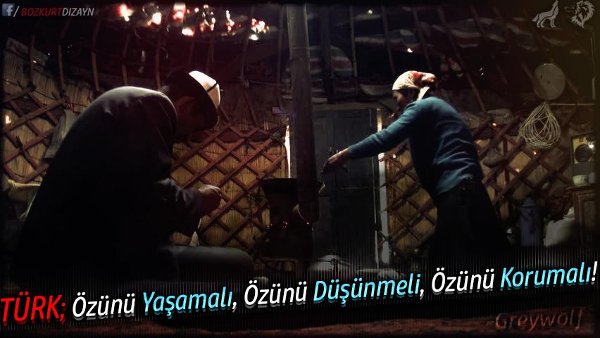 türk özünü yaşamalı