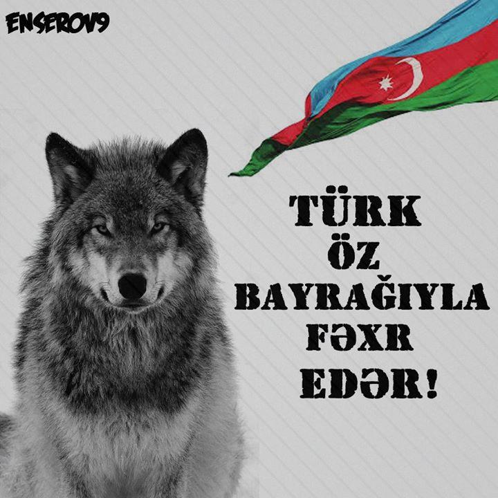 türk öz bayrağına