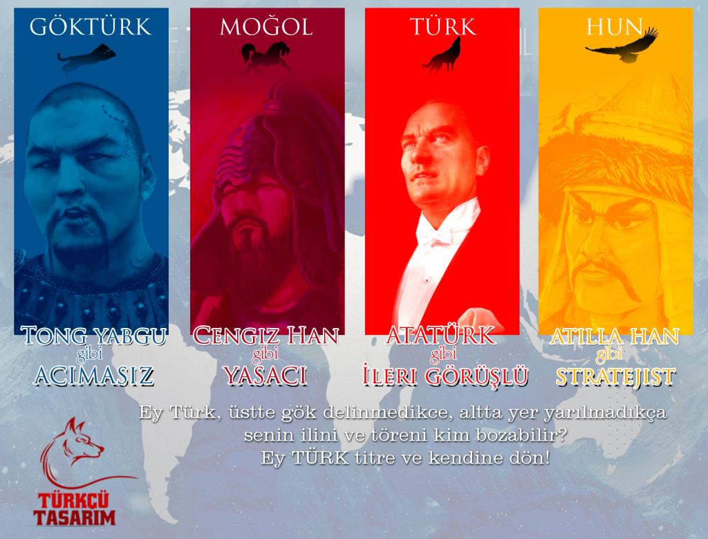 türk devletleri -kapak