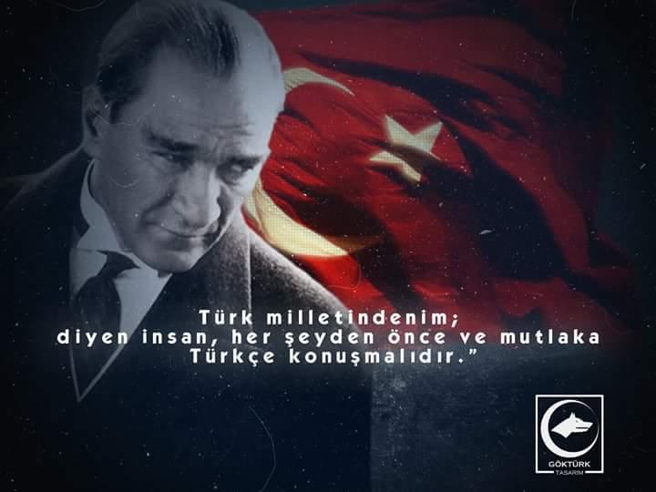 türk milletindenim diyen