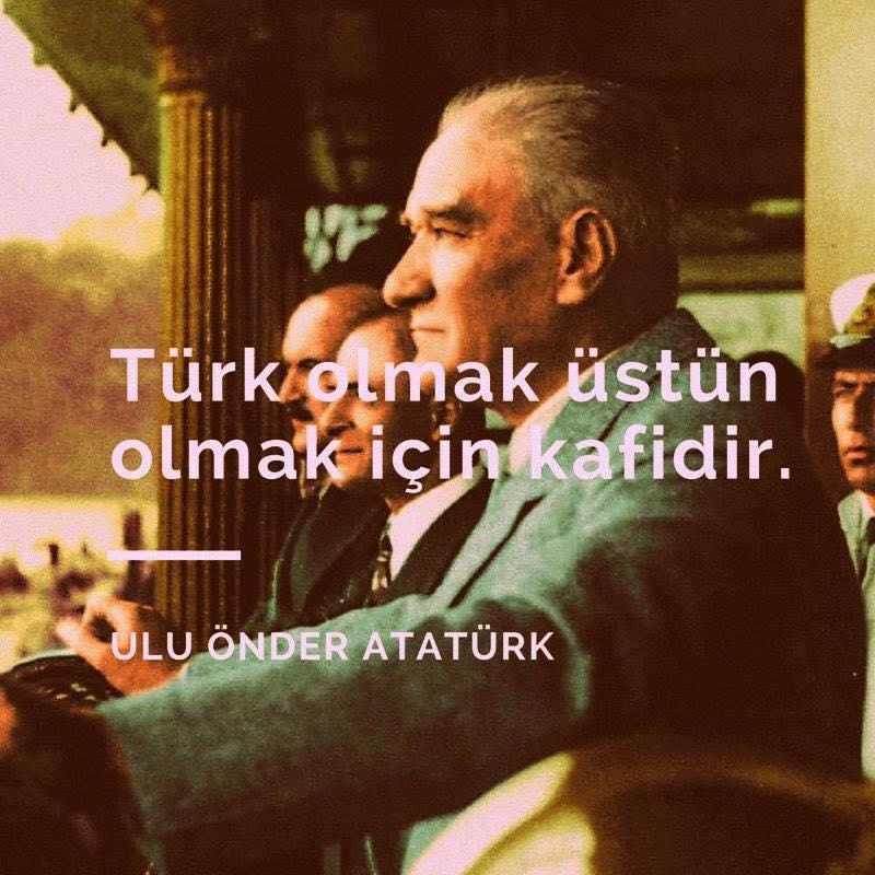 türk olmak üstün olmak için kafidir