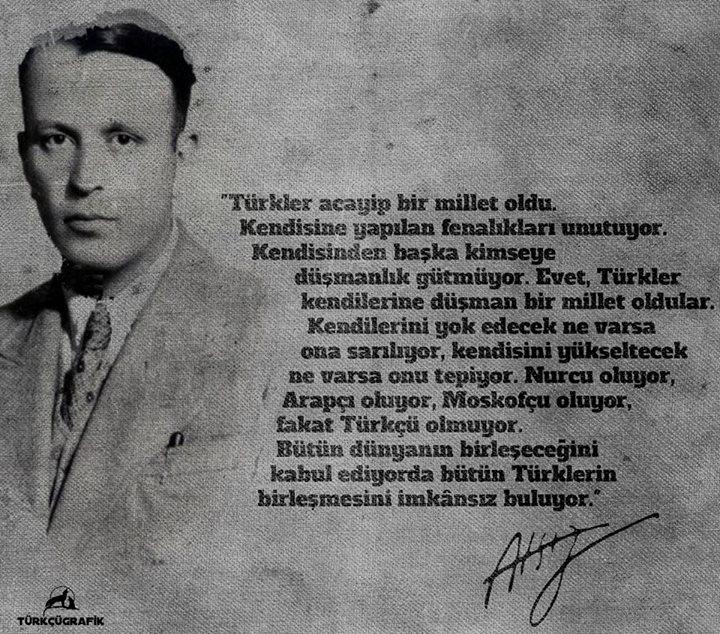 türkler acayip bir millet oldu