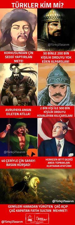 türkler kim mi