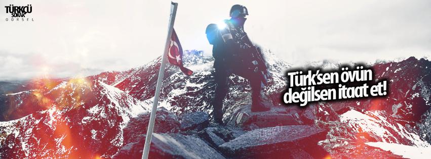 türksen övün değilsen