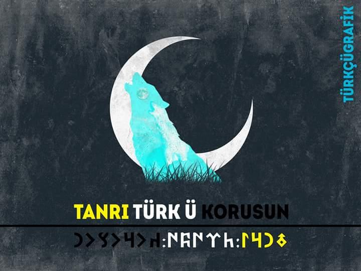 tanrı türkü korusun ve kurt ay