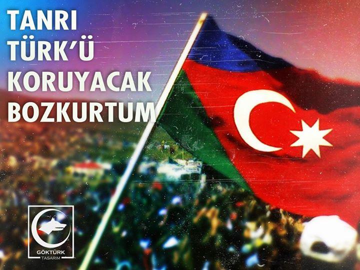tanrı türkü koruyacak bozkurtum
