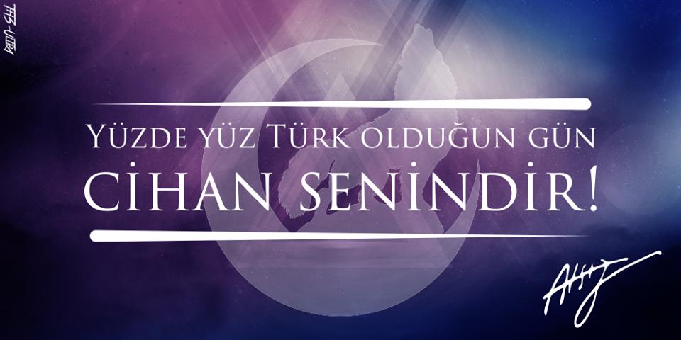 yüzde yüz türk olduğun gün -kapak