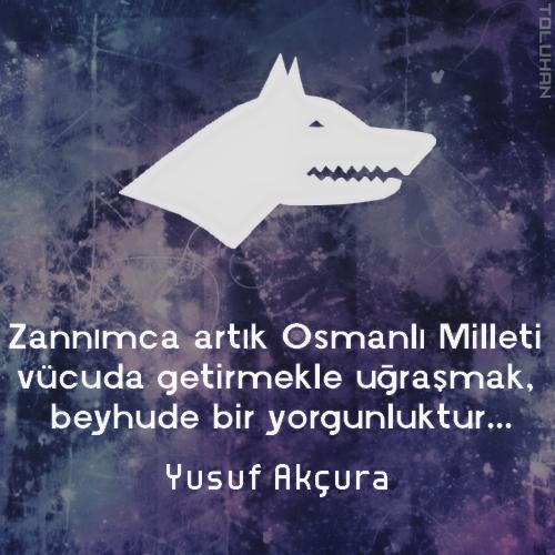 zannımca artık osmanlı milleti